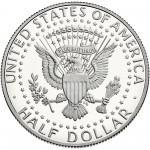 2013 Kennedy Half Dollar Proof Reverse