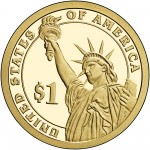 2013 Presidential Dollar Coin Proof Reverse