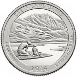 2014 America The Beautiful Quarters Coin Great Sand Dunes Colorado Proof Reverse