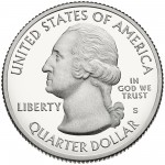 2014 America The Beautiful Quarters Coin Proof Obverse S