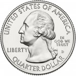 2014 America The Beautiful Quarters Coin Uncirculated Obverse D