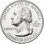 2014 America The Beautiful Quarters Coin Uncirculated Obverse P