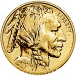 2014 American Buffalo Gold One Ounce Bullion Coin Obverse