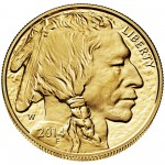 2014 American Buffalo One Ounce Gold Proof Coin Obverse