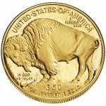 2014 American Buffalo One Ounce Gold Proof Coin Reverse