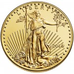 2014 American Eagle Gold Half Ounce Bullion Coin Obverse