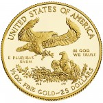2014 American Eagle Gold Half Ounce Proof Coin Reverse