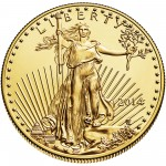 2014 American Eagle Gold One Ounce Bullion Coin Obverse