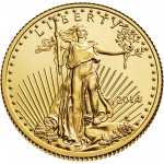2014 American Eagle Gold Quarter Ounce Bullion Coin Obverse