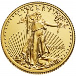 2014 American Eagle Gold Tenth Ounce Bullion Coin Obverse