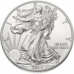 2014 American Eagle Silver One Ounce Bullion Coin Obverse