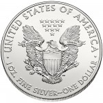 2014 American Eagle Silver One Ounce Bullion Coin Reverse