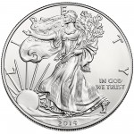 2014 American Eagle Silver One Ounce Uncirculated Coin Obverse