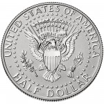 2014 Kennedy Half Dollar Fiftieth Anniversary Silver Reverse Proof Coin West Point Reverse