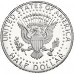 2014 Kennedy Half Dollar Proof Reverse