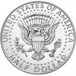 2014 Kennedy Half Dollar Uncirculated Reverse