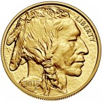 2015 American Buffalo Gold One Ounce Bullion Coin Obverse
