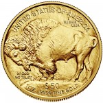 2015 American Buffalo Gold One Ounce Bullion Coin Reverse