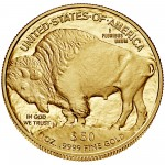 2015 American Buffalo One Ounce Gold Proof Coin Reverse