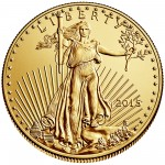 2015 American Eagle Gold Half Ounce Bullion Coin Obverse
