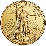 2015 American Eagle Gold One Ounce Bullion Coin Obverse
