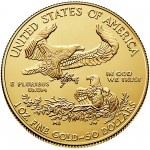 2015 American Eagle Gold One Ounce Bullion Coin Reverse