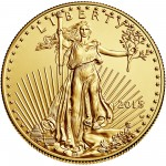 2015 American Eagle Gold One Ounce Uncirculated Coin Obverse