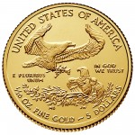 2015 American Eagle Gold Tenth Ounce Bullion Coin Reverse