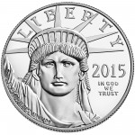 2015 American Eagle Platinum One Ounce Proof Coin Obverse
