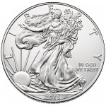 2015 American Eagle Silver One Ounce Bullion Coin Obverse