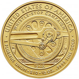 2015 First Spouse Gold Coin Bess Truman Uncirculated Reverse