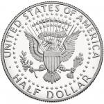 2015 Kennedy Half Dollar Proof Reverse