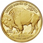 2016 American Buffalo One Ounce Gold Proof Coin Reverse
