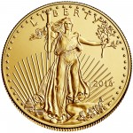 2016 American Eagle Gold Half Ounce Bullion Coin Obverse