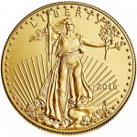 2016 American Eagle Gold One Ounce Bullion Coin Obverse