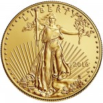 2016 American Eagle Gold One Ounce Uncirculated Coin Obverse