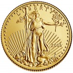2016 American Eagle Gold Tenth Ounce Bullion Coin Obverse