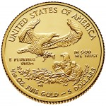 2016 American Eagle Gold Tenth Ounce Bullion Coin Reverse