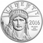 2016 American Eagle Platinum One Ounce Proof Coin Obverse