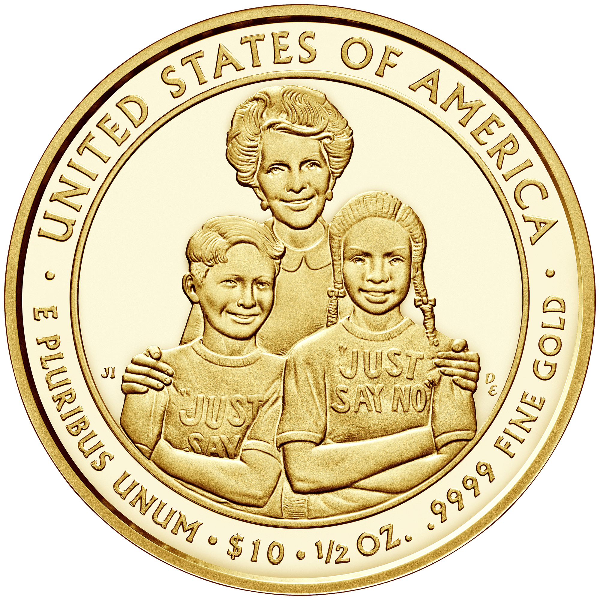 2016 First Spouse Gold Coin Nancy Reagan Proof Reverse