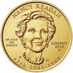 2016 First Spouse Gold Coin Nancy Reagan Uncirculated Obverse