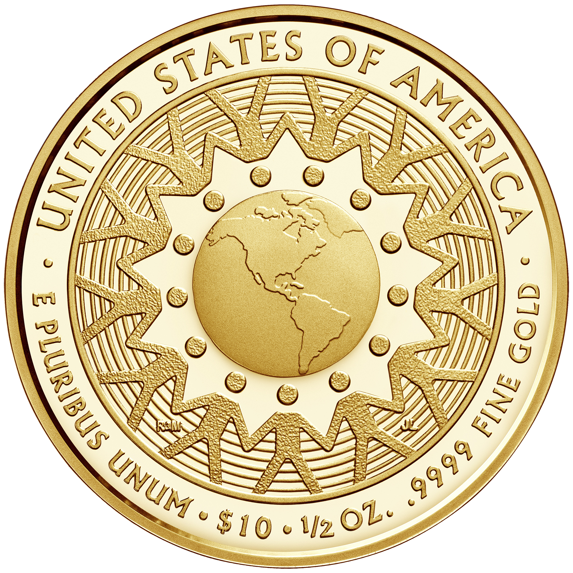 2016 First Spouse Gold Coin Patricia Nixon Proof Reverse