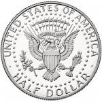 2016 Kennedy Half Dollar Proof Reverse