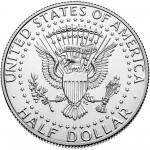 2016 Kennedy Half Dollar Uncirculated Reverse
