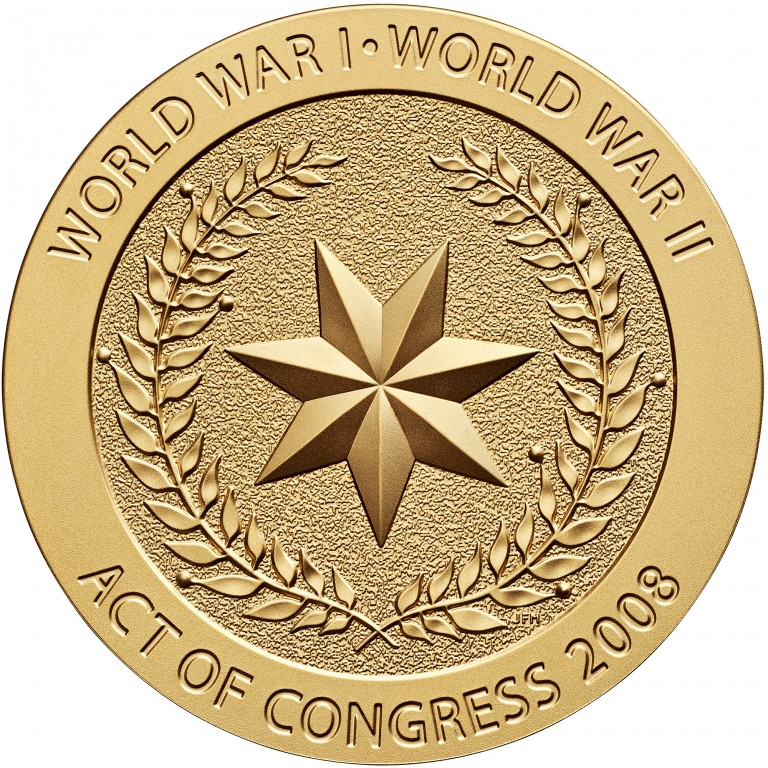 2008 Code Talkers Cherokee Nation Bronze Three Inch Medal Reverse