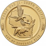 2008 Code Talkers Ho Chunk Nation Bronze Three Inch Medal Reverse
