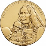 2008 Code Talkers Ponca Tribe Bronze Three Inch Medal Obverse