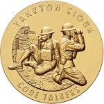 2008 Code Talkers Yankton Sioux Tribe Bronze Three Inch Medal Obverse
