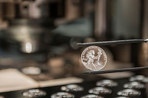 The 2014 American Eagle Platinum Proof Coin.