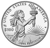 American Eagle Platinum Proof Coin.